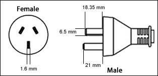 China GB2099 3 Pin 10 Amp
