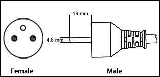 Belgium Schuko CEE7/6 3 Prong 16 Amp