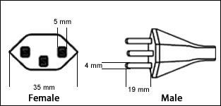 Switzerland SEV 1011 3 Prong 16 Amp