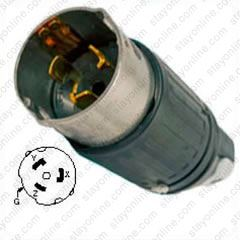 Admirable Cs8365C Shop Hubbell Cs8365C Ac Plug Ca Std 50A 3 Phase 250V Male Wiring 101 Tzicihahutechinfo