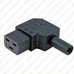Rewireable Heavy Duty IEC C13 Female Connector Socket Power Adapter Cord Plug
